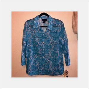 Charter Club cotton blouse